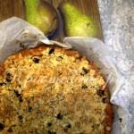 Грушевый пирог рецепт с фото
