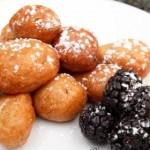 Творожные пончики фото