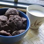 домашнее шоколадное печенье фото