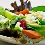 Салат с малиной